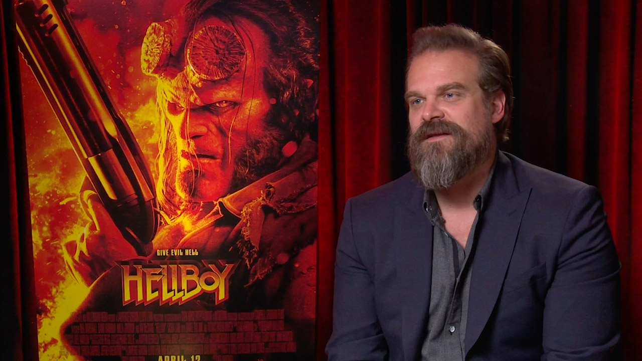 watch Exclusive Ask Hellboy Interview