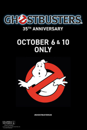 Ghostbusters (1984) 35th Anniversary poster