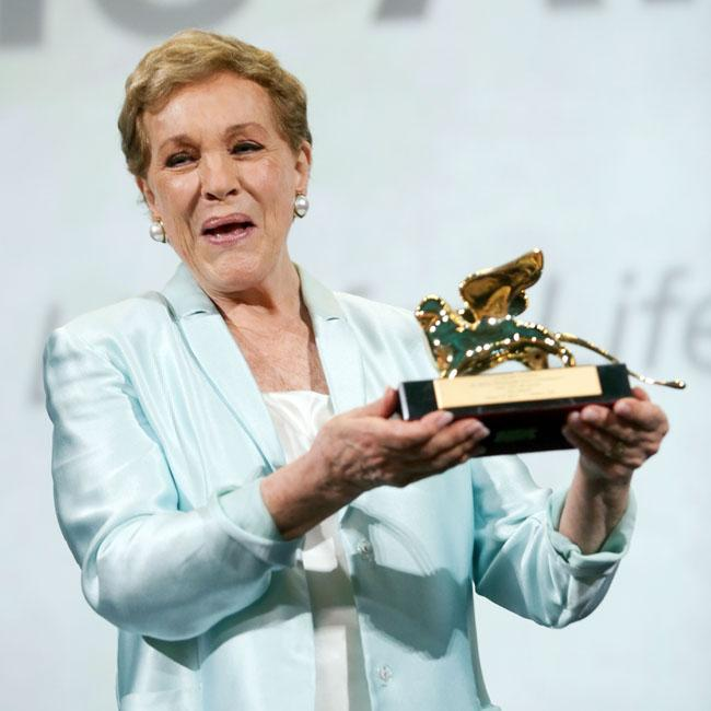 Julie Andrews jokes she was too 'stoned' to take on The Wolf of Wall Street job