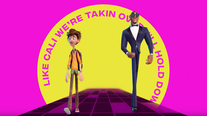 "watch Spies In Disguise ""Fly"" Official Lyric Video"