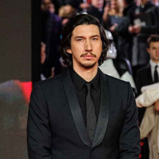Adam Driver says he's become 'familiar' with Kylo Ren