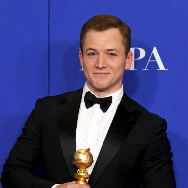 Taron Egerton regrets snubbing Sir Elton John in Golden Globes speech