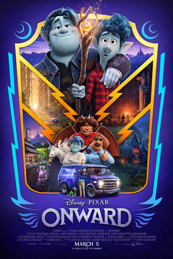 Disney•Pixar's Onward poster