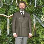 Michael Sheen never meets real-life characters