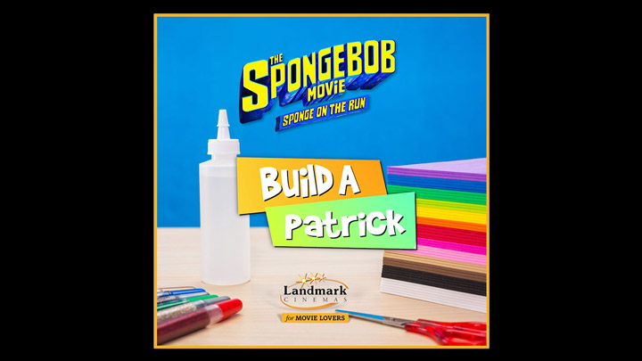 "teaser image - The SpongeBob Movie: Sponge on the Run ""Build A Patrick"" Instructional Video"