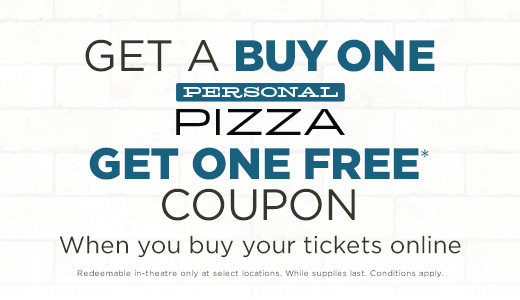 BOGO Personal Pizza Offer