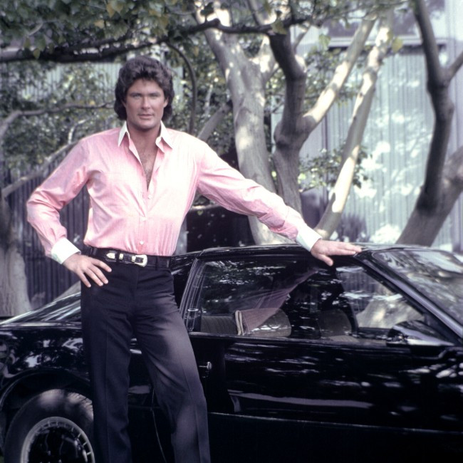 David Hasselhoff: I have 'emotional hand' in Knight Rider film