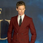 Eddie Redmayne had to swim in freezing cold water for Fantastic Beasts 3