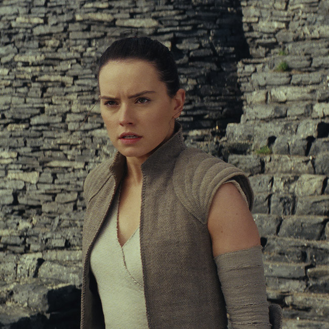 Daisy Ridley connected with Star Wars character Rey