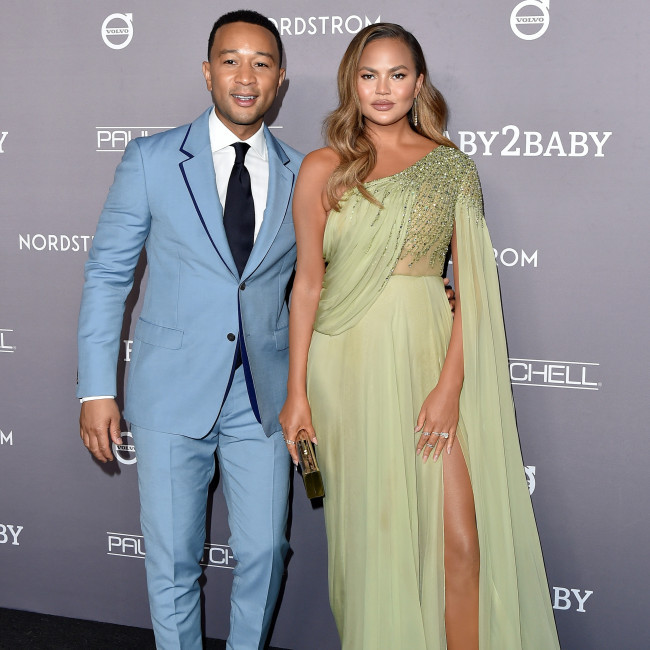 John Legend and Chrissy Teigen lend voices to The Mitchells vs. The Machines