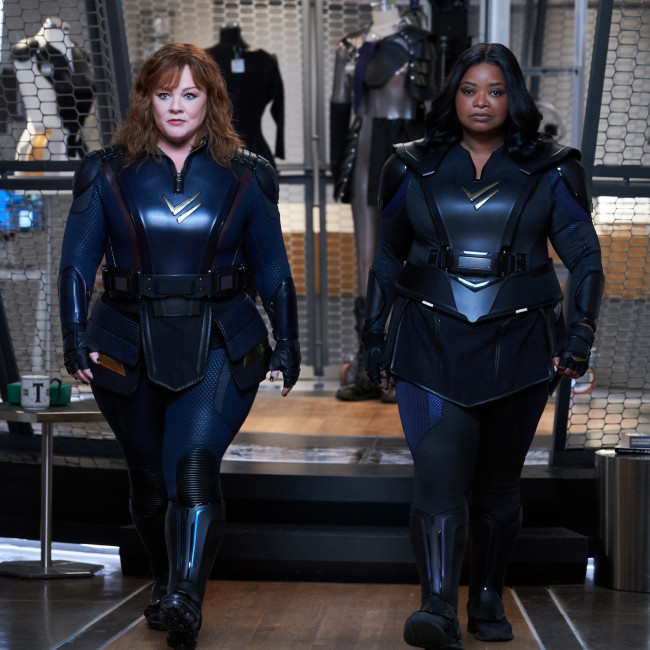 Octavia Spencer loved dressing up in Thunder Force