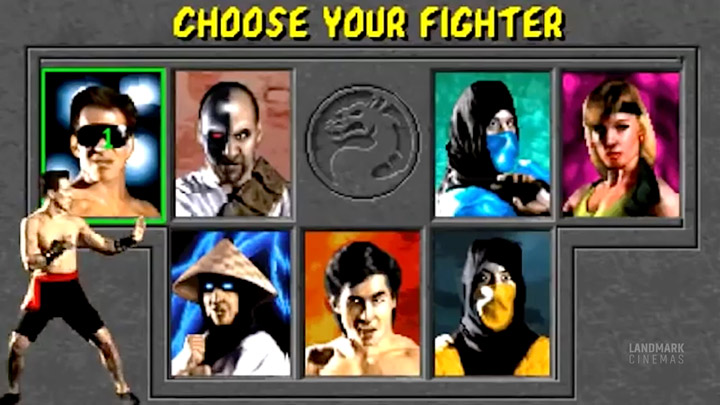 "watch Mortal Kombat ""Choose Your Fighter"" Landmark Exclusive"